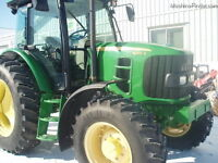 2010 John Deere 6140D 4WD Tractor with Cab