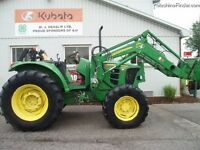 2008 John Deere 6430 4WD Tractor with Loader