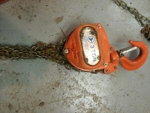 Excellent shape block chain Hoist winch
