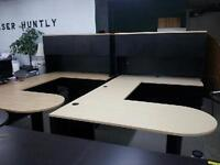 EXECUTIVE DESK U-SHAPED MAPLE  COLOUR ONLY 495.00 WHY BUY NEW?? Mississauga / Peel Region Toronto (GTA) Preview