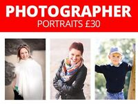 Freelance Photographer (portrait £30) & websites (from 80£) photography