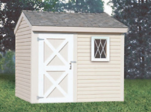 Side Entry Storage Shed