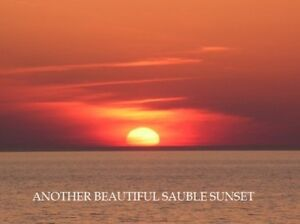 SAUBLE BEACH BEAUTY WEEKS OF JUNE23 , JUNE 30 & AUG 25 AVAILABLE