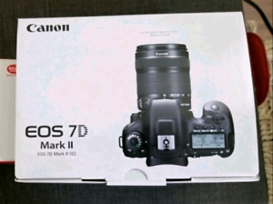 Canon 7d Mark ii w/ Wifi Card and 5mth Warr.