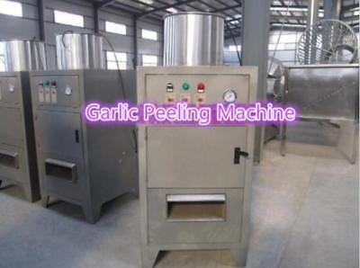 Pneumatic Dry Garlic Peeling Machine Garlic Peeler Stripper 150KG/hour T-10