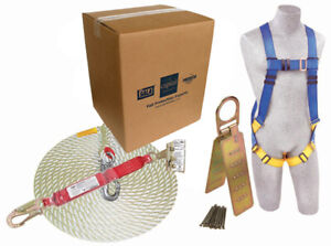 Fall Arrest Equipment w Roofing Harness