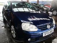VOLKSWAGEN GOLF 2.0 GT TDI 140 6 Speed (blue) 2005