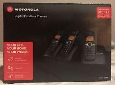 Motorola Cordless phone L603m with 3 Handset. BRAND NEW!!