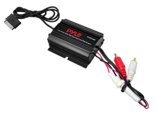 PLDN38RI iPod Direct To RCA Stereo Audio Ground Loop Isolator/ Audio Line Driver