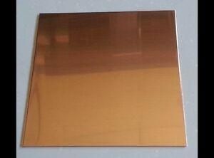Copper Sheet Plate .021
