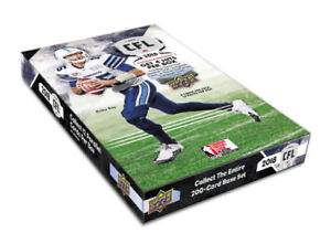 2018 Upper Deck CFL Football Available August 22nd @ Breakaway