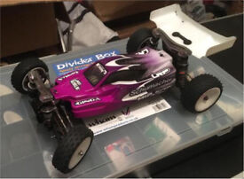 Schumacher K2 Rc buggy ready to race