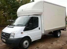 Ford Transit Twin Wheel Luton Van With Tail Lift ! year MOT No VAT To Pay