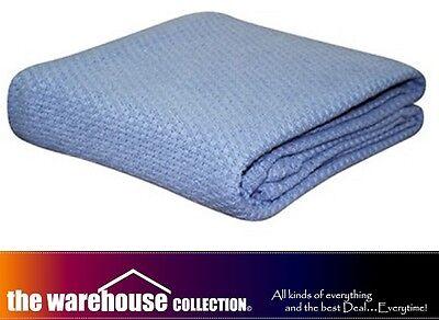 Одеяла и накидки KOMMOTION DENIM BLUE