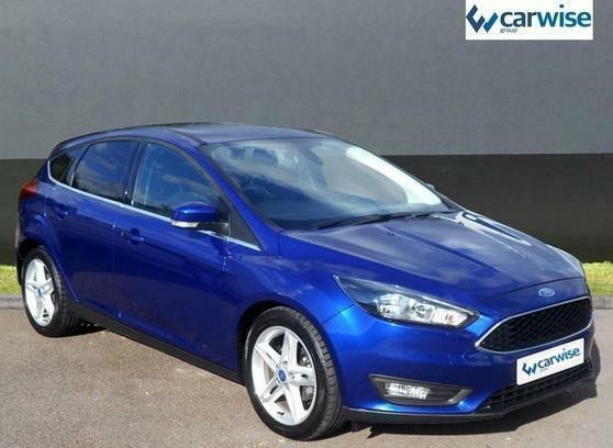 2015 Ford Focus ZETEC TDCI Diesel blue Manual
