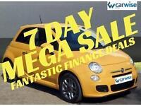 2015 Fiat 500 S Petrol yellow Manual