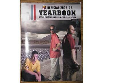 Pba Bowling 2007-08 Official Program Yearbook