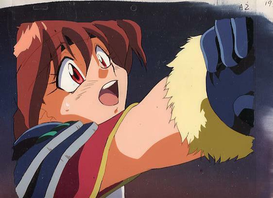 Anime Cel Slayers #136