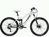 Full suspension Trek lush mountain bike