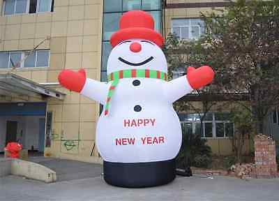 Lovely Giant Outdoor Christmas Inflatable Snowman for Christmas Decoration 8m my (My Outdoor Halloween Decorations)