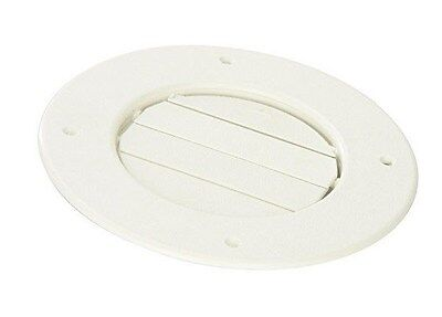 D & W Inc 8840WH Louvered Air Conditioning Ceiling Vent