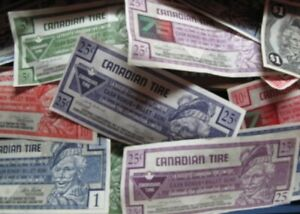 I WANT YOUR OLD CANADIAN TIRE MONEY. WILLING TO PICK IT UP!