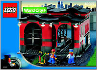 LEGO Trains 10027 - Train Engine Shed - 100%complet+instructions