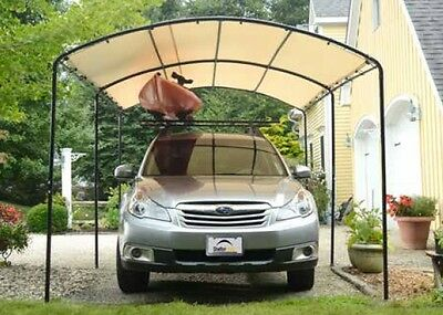 9x16 monarc canopy carport portable garage shade