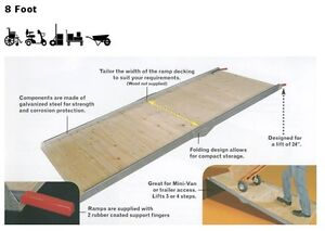 WHEELCHAIR RAMPS, TRUCK RAMPS & UTILITY RAMPS ON SALE. IN STOCK London Ontario image 6
