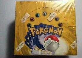 Pokemon Base Set Booster Box Rare