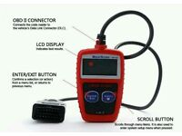 New Maxiscan MS309 CAN OBD2 II EOBD Vehicle Scan Diagnostic Code Reader Tool