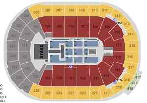 ARIANA GRANDE - 2 pairs in section 104