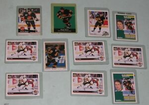 Pavel Bure - 11 rookie and 1st year cards, mint