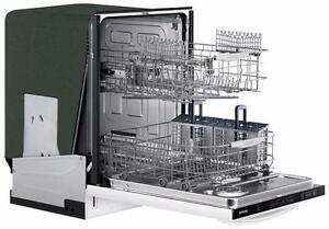 Lave-vaisselle SAMSUNG encastrable de 24po en blanc DW80F600UTW