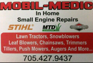 Mobil-Medic   Snowblower and Small Engine Repairs.  (In Home)