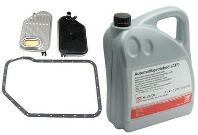 Audi A4 A4 Q Allroad VW Passat 5 Liters Auto Transmission Fluid+Filter Kit