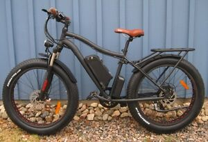Fat Electric Bicycle - 2017 Kador Fat Ebike 48V500W fully loaded