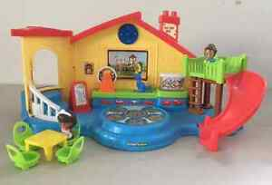 OUR GRANDKIDS WERE BUSY FOR HOURS WITH THIS TOY!!