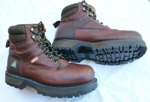 93a15500adc Workload steel toe Safety work boots men's size US 10 (or UK 9 ...