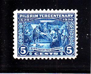 US-Scott-550-5c-Pilgrim-NH