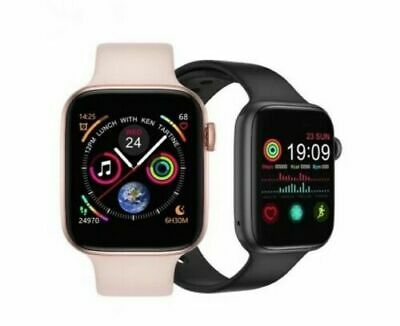 SMARTWATCH OROLOGIO CARDIOFREQUENZIMETRO BLUETOOTH ANDROID IOS FITNESS NEW 2020