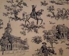 Toile Table Top 100% Cotton Craft Fabrics