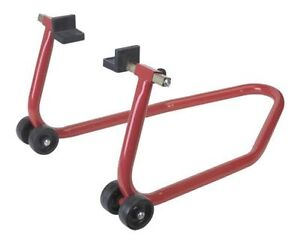 Rear stand, paddock stand