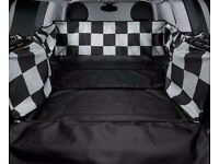 MINI Clubman Genuine OEM 51470432367 Checkered Flag Protective Boot Space Cover 2008 - 2014