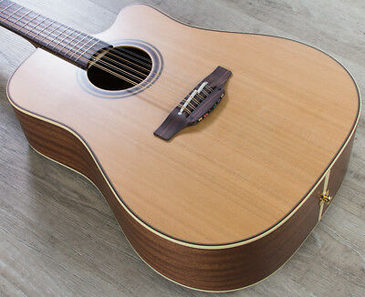 Takamine 12 String (Takamine P3DC12 12-String Dreadnought Acoustic Electric Guitar Natural with)