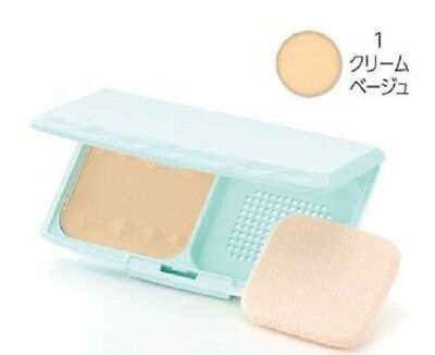 """F/S From JAPAN CEZANNE UV Foundation EX Plus EX1. Cream beige """"with case"""""""