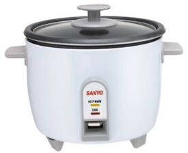 Sanyo Rice Cooker & Steamer, White – Rice Cooker