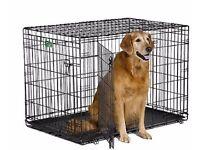 "Extra large dog crate 42"""