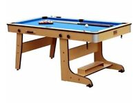 Folding Pool Table for sale - Collection Only - Must Go! --- £75 ONO