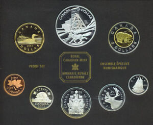 Canada 2003 Double Dollar Proof Coin Set